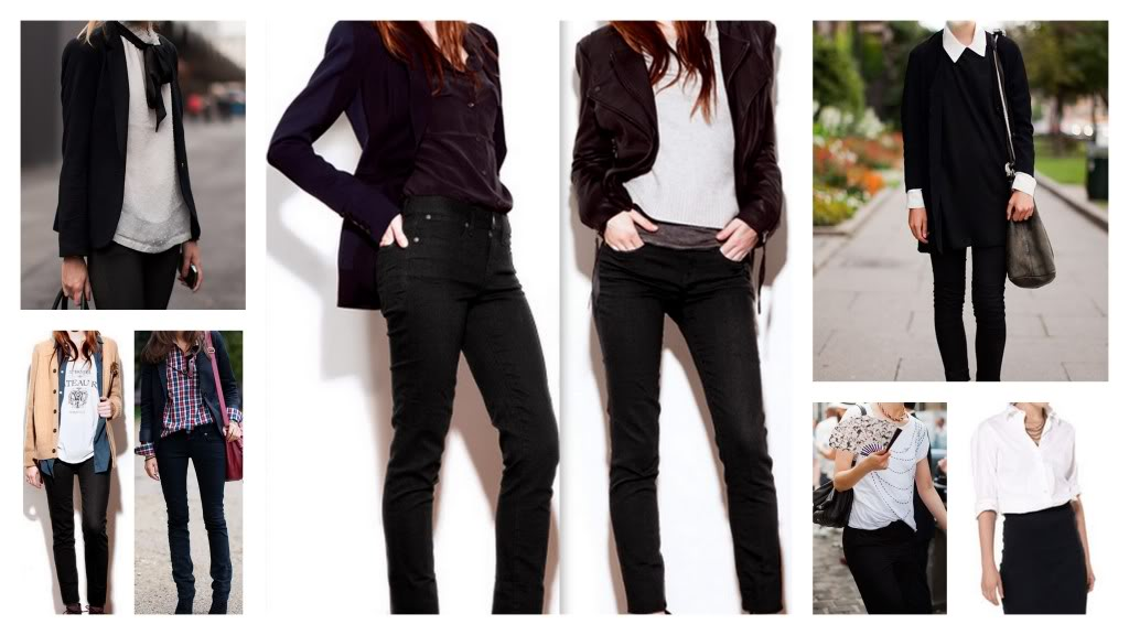 What to Wear With Black Skinny Jeans What to Wear With Black Skinny
