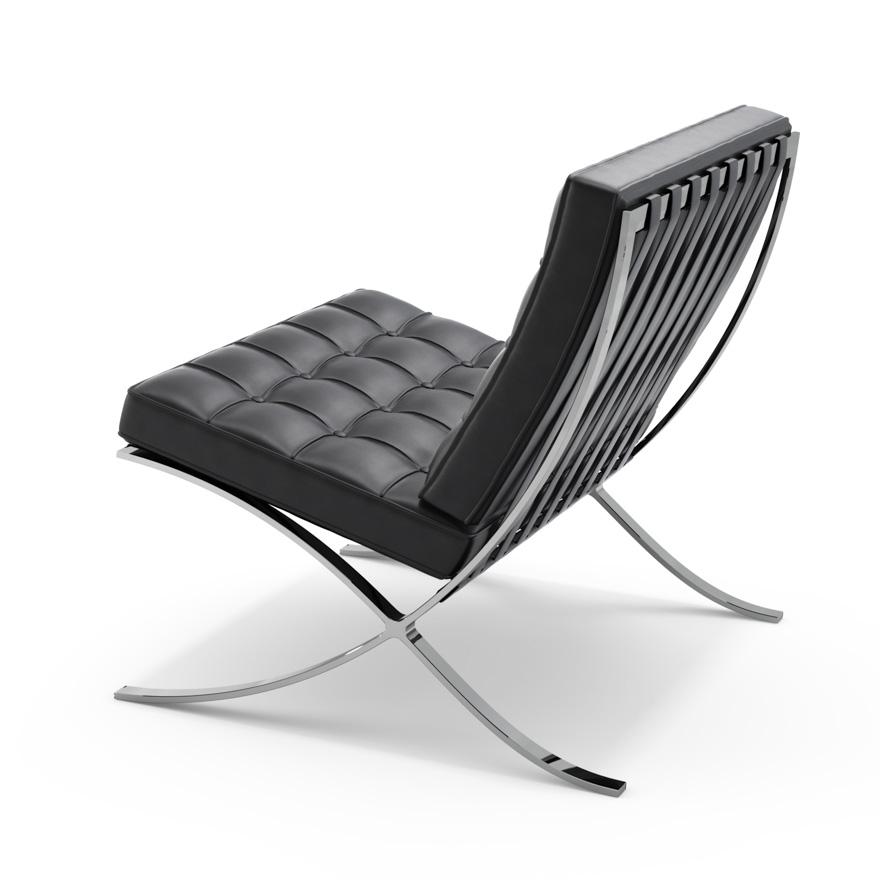 ludwig mies van der rohe's barcelona chair