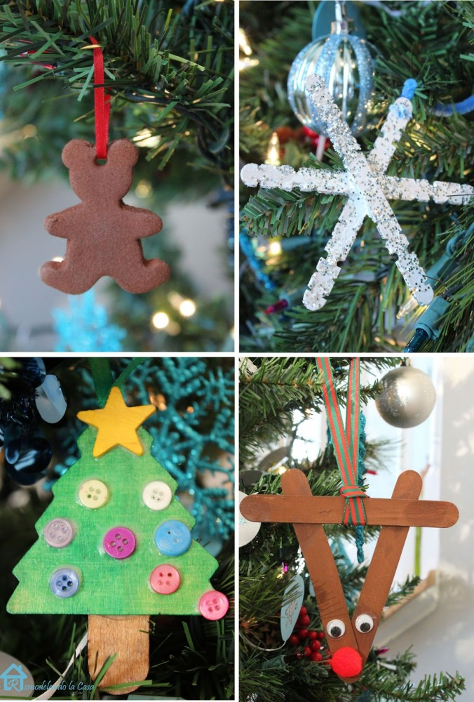 little kids Christmas ornaments ideas
