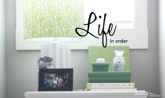 lifeinorder