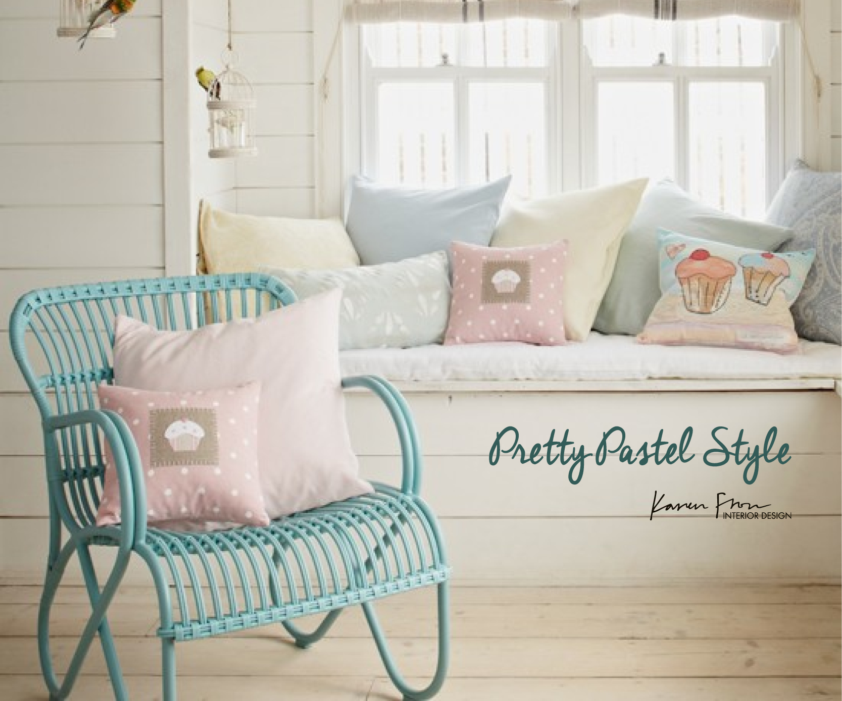 Colours of spring pretty pastel interiors karen fron interior design calgary for Pastel pink and yellow bedroom
