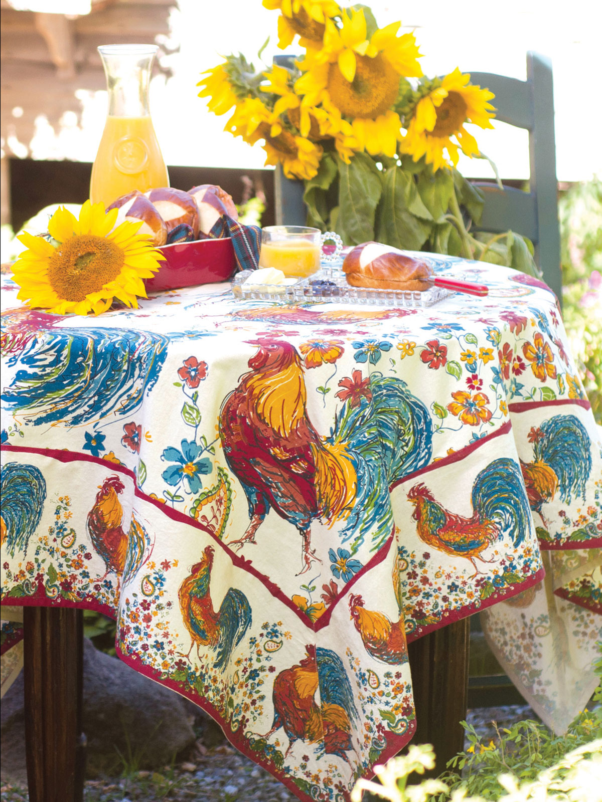 Exceptional April Cornell Table Linens Designs