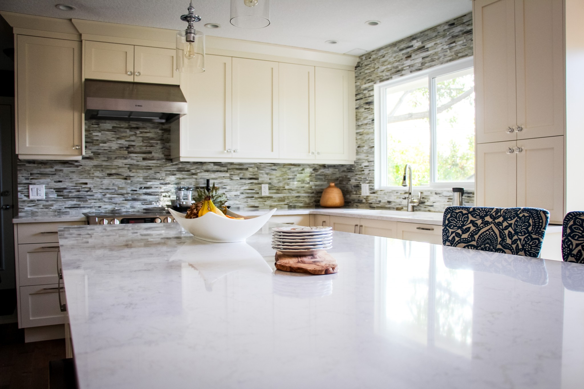 Luxe Kitchen Remodel - Karen Fron Interior Design | Calgary