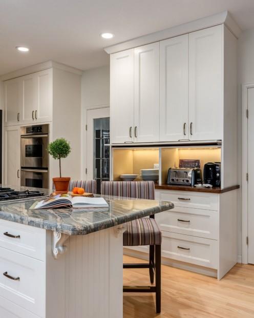 Modern Kitchen Design Calgary: Modern Country Kitchen - Karen Fron Interior Design