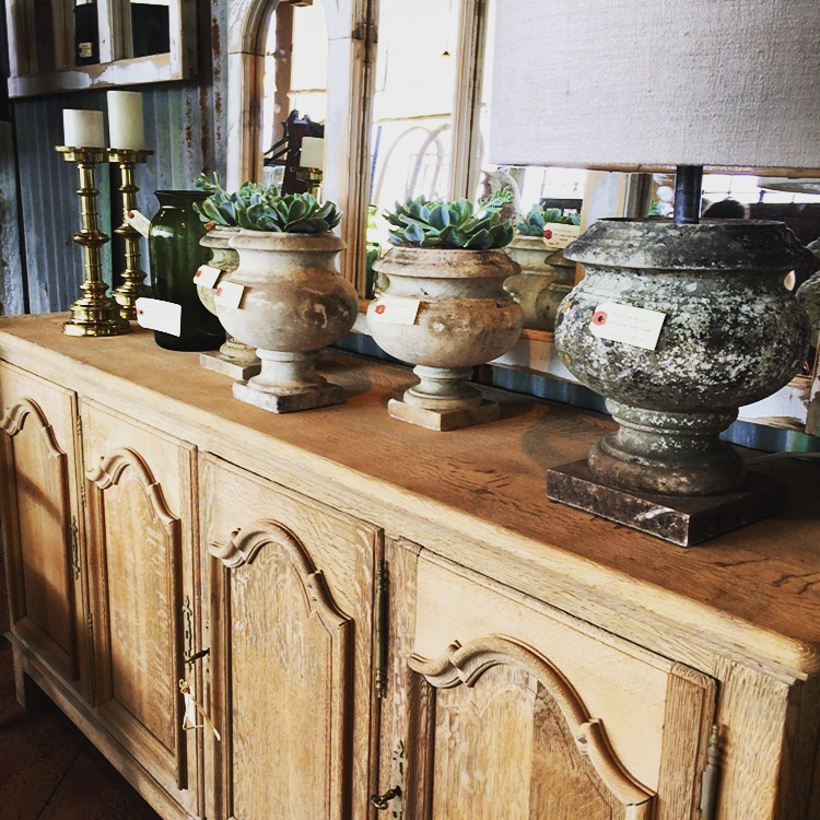 Antique French sideboard for sale at Uniquities in Calgary