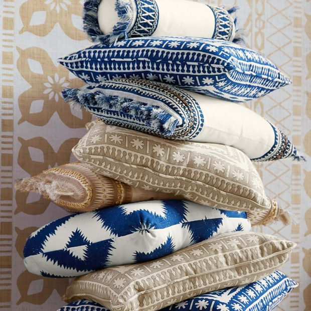 Mary Mcdonald's blue collection for Schumacher