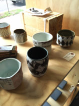 selection of pottery from Upstate MN Grand Marias