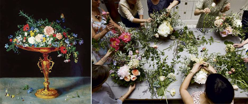 Dutch Master style taught at flower school