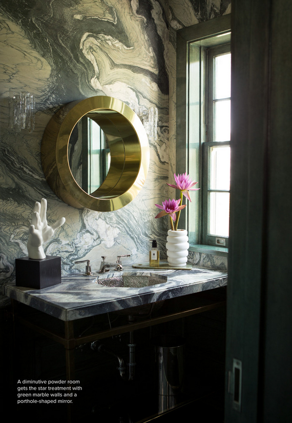 Kelly Wearstler powder room