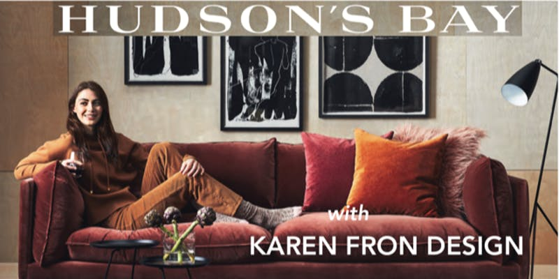 Calgary Design Lunch and Learn with Karen Fron at Hudson's Bay Downtown